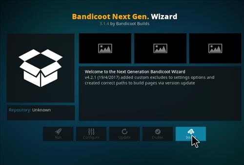 How to Install Mammoth Build Kodi 17 .6 Krypton step 18