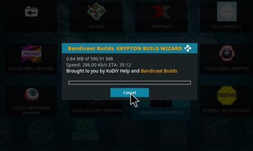 How to Install Mammoth Build Kodi 17 .6 Krypton step 26