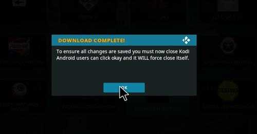 How to Install Mammoth Build Kodi 17 .6 Krypton step 27