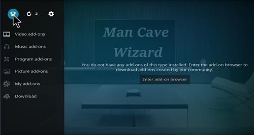Man Cave Wizard : How to install man cave lite build kodi krypton