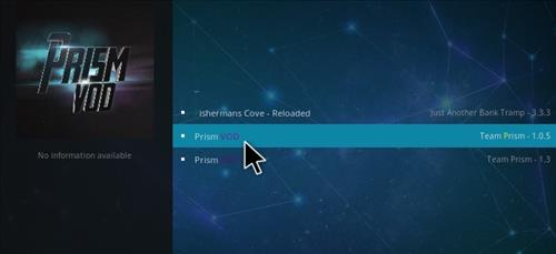 How to Install Prism VOD Add-on Kodi 17.1 Krypton step 17