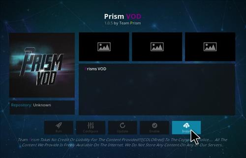 How to Install Prism VOD Add-on Kodi 17.1 Krypton step 18