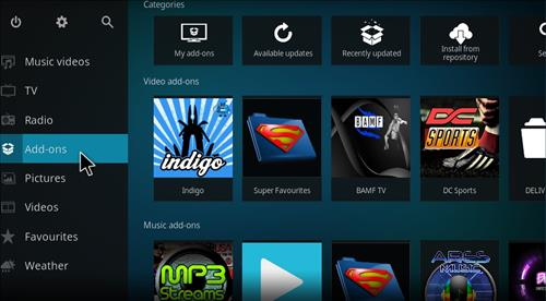 Kodi Krypton Ares Build Pulse