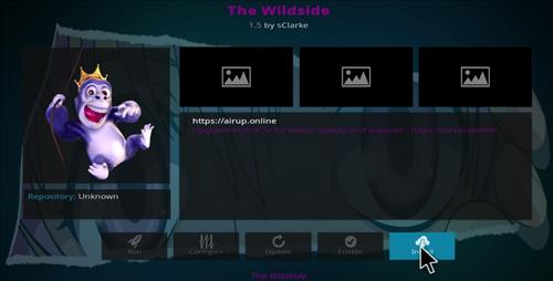 How to Install The Wildside Add-on Kodi 17.1 Krypton step 19