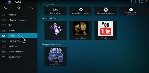 How to Install The Wildside Add-on Kodi 17.1 Krypton step 8