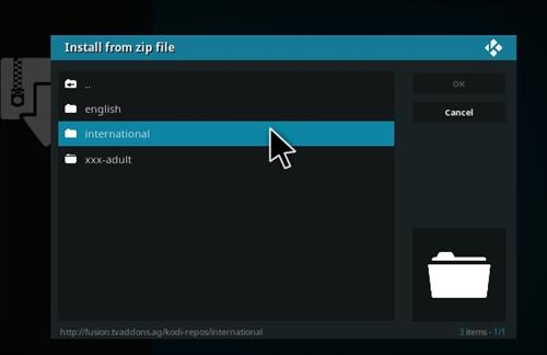 How to Install dk-xbmc-repaddon Add-on Repository step 13