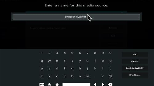 Project Cypher Add-on Kodi 17 Krypton How to Install Guide step 6