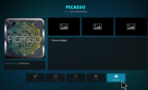 Guide To Install Picasso Add-on Kodi 17 Krypton step 18