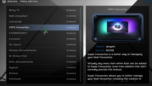 How to Install Cellar Door TV Build with Screenshots pic 4