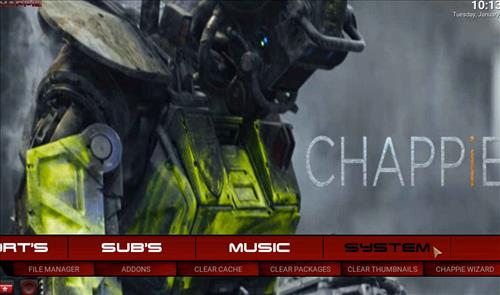 How to Install Chappie Builds Krypton Family Red Edition pic 1