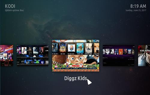 How to Install Diggz Mega All in One Build Kodi 17.3 Krypton step 32