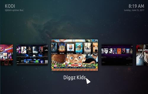 How to Install Diggz Mega All in One Build Kodi 17.3 Krypton step 32