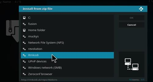 How to Install FTFA Live TV Add-on Kodi 17 Krypton step 11