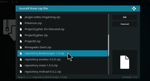How to Install FTFA Live TV Add-on Kodi 17 Krypton step 12