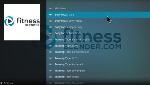 How to Install Fitness Blender Add-on Kodi 17 krypton pic 2