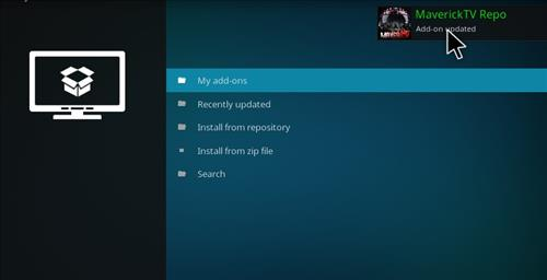 How to Install Maverick Build Kodi 17 Krypton step 13