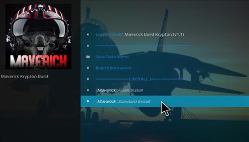 How to Install Maverick Build Kodi 17 Krypton step 19