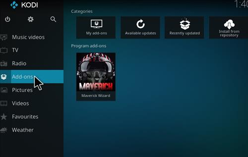 How to Install Maverick Build Kodi 17 Krypton step 20