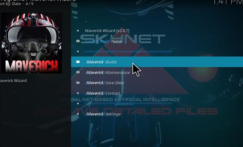 How to Install Maverick Build Kodi 17 Krypton step 23