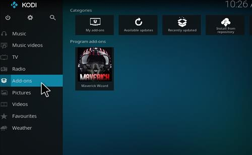 How to Install Maverick Build Kodi 17 Krypton step 8