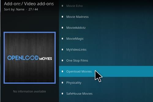 How to Install Openload Movies Addon Kodi 17 Krypton Step 17