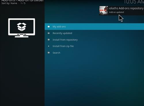 How to Install Picasso Kodi Add-on with Screenshots step 13