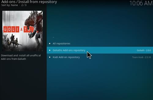 How to Install Picasso Kodi Add-on with Screenshots step 15