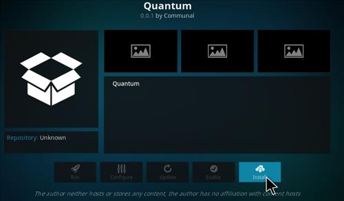 How to Install Quantum Add-on Kodi 17 Krypton step 18