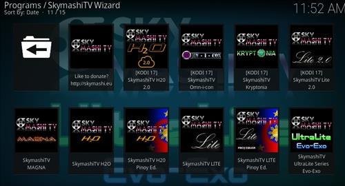 How to Install SkyMashi TV Wizard Kodi 17 Krypton pic 2