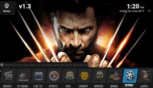 How to Install Spinz-TV Fury Kodi 17 Krypton pic 1