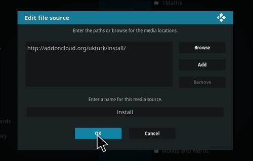 How to Install UK Turk Playlists Add-on Kodi 17 Krypton step 7