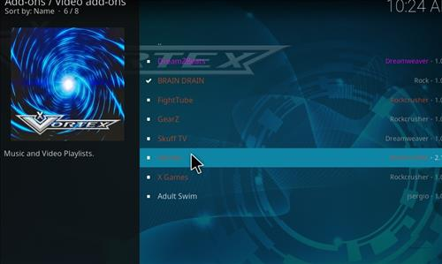 How to Install Vortex Kodi Add-on with Screenshots step 17