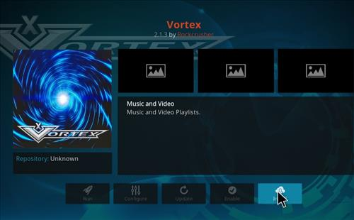 How to Install Vortex Kodi Add-on with Screenshots step 18