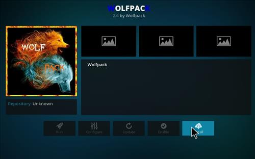 How to Install WolfPack Kodi Add-on with Screenshots step 18