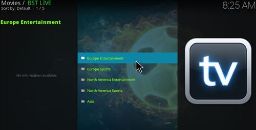BST Live Add-on Kodi 17 Krypton How to Install Guide pic 2