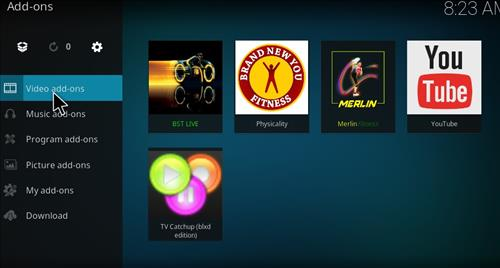 BST Live Add-on Kodi 17 Krypton How to Install Guide step 15