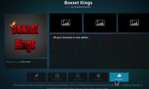 Boxset Kings Add-on Kodi 17 Krypton How to Install Guide step 18