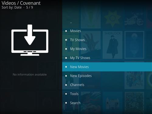 Covenant Add-on Kodi 17.3 Installing and Guide through Ares Wizard pic 2