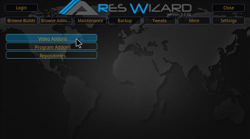 Covenant Add-on Kodi 17.3 Installing and Guide through Ares Wizard step 25