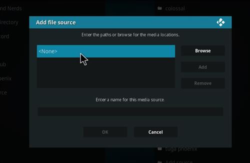 FalconUltra IPTV Add-on How to Install Guide step 4