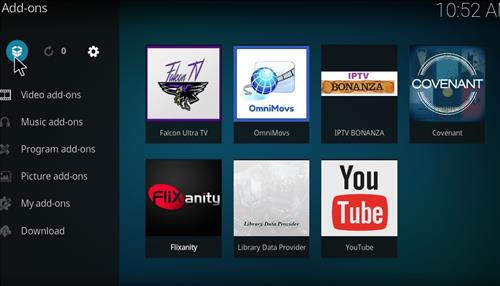 FalconUltra IPTV Add-on How to Install Guide step 9