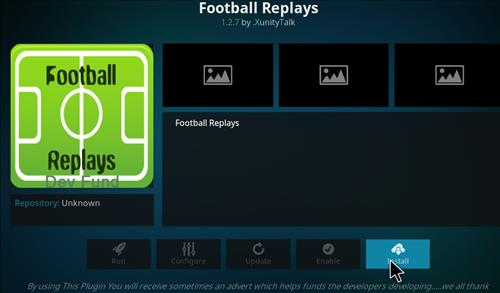 Football Replays Add-on Kodi 17 Krypton How to Install Guide step 18