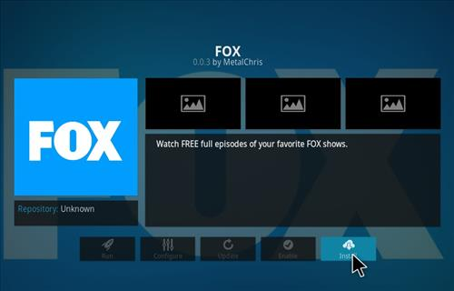 Fox Add-on Kodi 17 Krypton How to Install Guide step 23