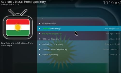 Halow Repository Kodi 17 Krypton How To Install Guide step 15