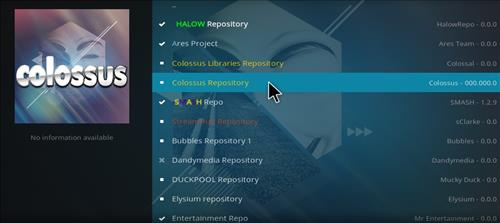 How to Install Colossal Repository with Screenshots step 17