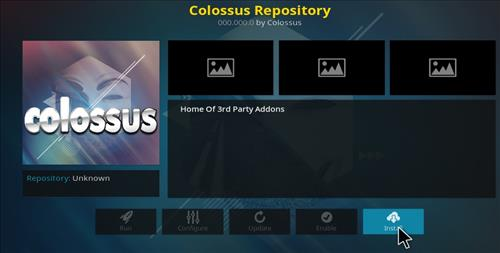 How to Install Colossal Repository with Screenshots step 18