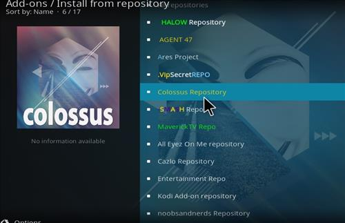 How to Install Colossal Repository with Screenshots step 20