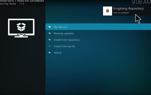 How to Install KongKidz Kodi Add-on with Screenshots step 13