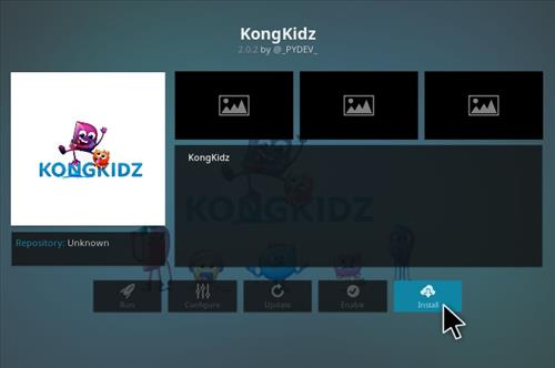 How to Install KongKidz Kodi Add-on with Screenshots step 18