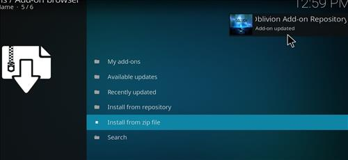 How to Install Oblivion Streams Kodi Add-on with Screenshots step 13